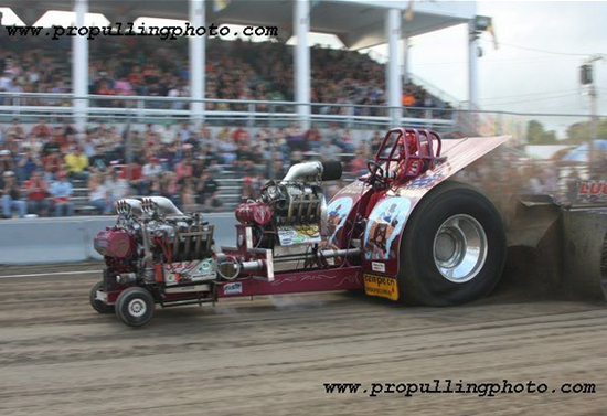 Tractor Pull Boats : New york state tractor pullers association boonville